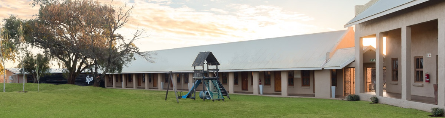 wedding venue with family accommodation in bloemfontein